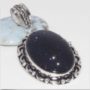 Jewelry - Dark Purple Sunstone Pendant